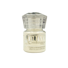 Tonic Studios Nuvo Embossing Powder 22ml - Crystal Clear 603N