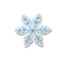 Memory Box Die - Plush Mountain Snowflake