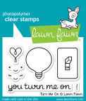 Lawn Fawn Clear Stamps 3X2 - Turn Me On