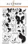 Altenew Layering Clear Stamps 6X8 29/Pkg - Painted Butterflies