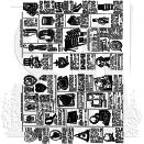 Tim Holtz Cling Rubber Stamp Set - Seasonal Catalog #2