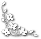Memory Box Poppystamp Die - Dogwood Blossom Corner
