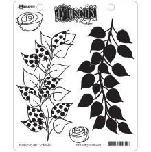 Ranger Ink Dyan Reaveley Dylusions Cling Stamp 4/Pkg - Branching Out