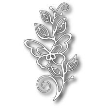 Memory Box Poppystamp Die - Bellina Butterfly Stem