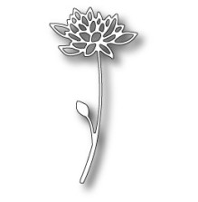 Memory Box Poppystamp Die - Blooming Strawflower