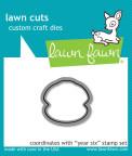 Lawn Fawn Custom Craft Die - Year Six
