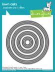 Lawn Fawn Custom Craft Die - Stitched Circle Frames