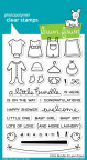 Lawn Fawn Clear Stamps 4X6 - Little Bundle