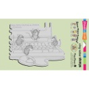 Stampendous House Mouse Cling Stamp 4X6 - Computer Mice
