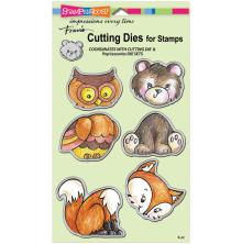 Stampendous Dies - Woodland Friends