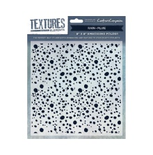 Crafters Companion Textures Elements 8x8 Embossing Folder - Rain UTGÅENDE