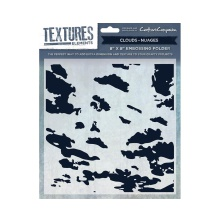 Crafters Companion Textures Elements 8x8 Embossing Folder - Clouds UTGÅENDE