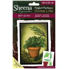 Sheena Douglass Perfect Partners Home Life Die - Herb Garden UTGÅENDE