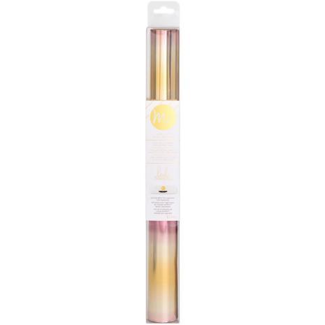 Heidi Swapp Minc Reactive Foil 12.25X10 Roll - Pink/Gold Ombre