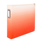 We R Memory Keepers Designer Album 3-Ring 12X12 - Ombre Coral
