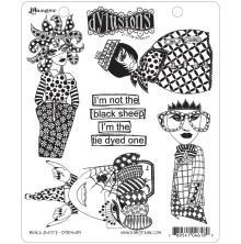 Ranger Ink Dyan Reaveley Dylusions Cling Stamp - Black Sheep