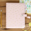 Websters Pages Color Crush A5 Planner Kit - Blush/Gold