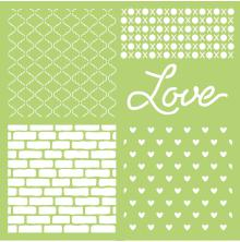 Kaisercraft Designer Template 12X12 - Love
