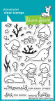 Lawn Fawn Clear Stamps 4X6 - Mermaid For You