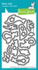 Lawn Fawn Custom Craft Die - Mermaid For You