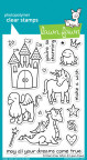 Lawn Fawn Clear Stamps 4X6 - Critters Ever After
