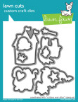 Lawn Fawn Custom Craft Die - Critters Ever After