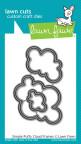 Lawn Fawn Custom Craft Die - Simple Puffy Cloud Frames