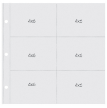 Simple Stories Snap Pocket Pages For 12X12 Binders 10/Pkg - 4X6 Horizontal