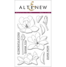 Altenew Layering Clear Stamps 4X6 11/Pkg - Magnolias For Her