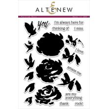 Altenew Layering Clear Stamps 6X8 21/Pkg - Painted Rose