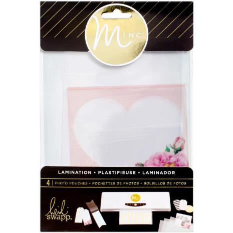 Heidi Swapp Minc Lamination Photo Pouches Assorted Sizes 4/Pkg UTGÅENDE