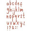 Sizzix Thinlits Die Set 30/Pkg - Delicate Letters #2