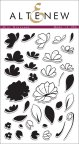 Altenew Layering Clear Stamps 4X6 36/Pkg - Mini Blossoms