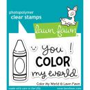 Lawn Fawn Clear Stamps 3X2 - Color My World