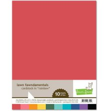 Lawn Fawn Cardstock Pack - Rainbow