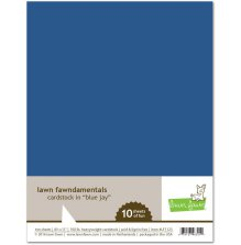 Lawn Fawn Cardstock Pack - Blue Jay