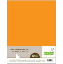 Lawn Fawn Cardstock Pack - Fake Tan