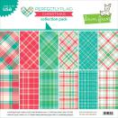Lawn Fawn Collection Pack 12X12 - Perfectly Plaid Christmas