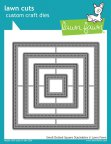 Lawn Fawn Custom Craft Die - Small Dotted Square Stackables