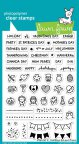 Lawn Fawn Clear Stamps 4X6 - Plan On It: Holidays