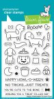 Lawn Fawn Clear Stamps 4X6 - Happy Howloween