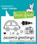 Lawn Fawn Clear Stamps 3X2 - Home For The Holidays