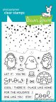 Lawn Fawn Clear Stamps 4X6 - Snow Cool