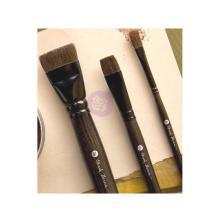 Prima Marketing Frank Garcia Memory Hardware Brushes 3/Pkg - Artisan Powder