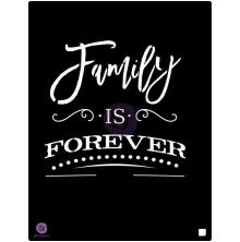 Prima Stencil 9.5X12 - Family Is Forever