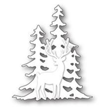 Memory Box Die - Deer In The Trees Silhouette