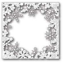 Memory Box Die - Dancing Snowflake Square