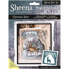 Sheena Douglass Scenic Winter Die - Christmas Deer