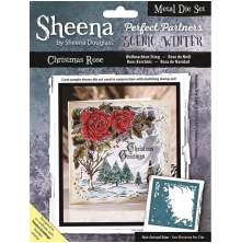 Sheena Douglass Scenic Winter Die - Christmas Rose