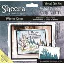 Sheena Douglass Scenic Winter Die - Winter Scene